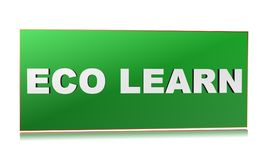Eco learn Royalty Free Stock Images