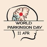 World Parkinson Day. Illustration of a Background for World Parkinson Day vector illustration