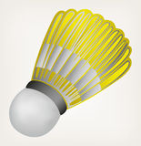 Illustration badminton ball Royalty Free Stock Photos