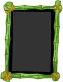 Bamboo Chalkboard Royalty Free Stock Image