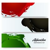 Afghanistan Independence Day. Illustration of a Banner for Afghanistan Independence Day Royalty Free Stock Photos