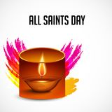 All Saint`s Day. Stock Image