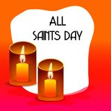 All Saint`s Day. Royalty Free Stock Image