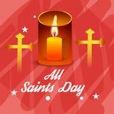 All Saint`s Day. Stock Photo