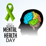 World Mental Health Day. Stock Photography