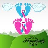 World Prematurity Day. Royalty Free Stock Photo