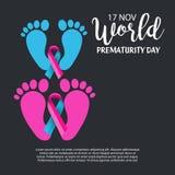 World Prematurity Day. Stock Photos