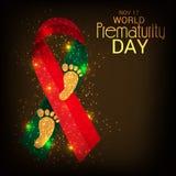 World Prematurity Day. Royalty Free Stock Photos