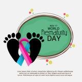 World Prematurity Day. Royalty Free Stock Image