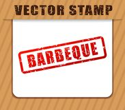 Barbeque buffered on white paper. Illustration of barbeque buffered on white paper stock illustration
