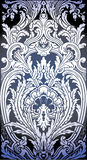 Illustration of Baroque pattern Stock Images
