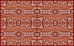 A illustration based on aboriginal style of dot painting depicti. Ng pattern vector illustration