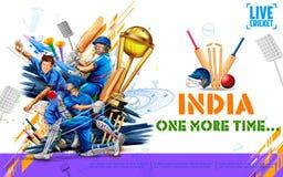 Batsman player playing cricket championship sports 2019 stock photography