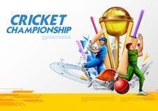 Batsman player playing cricket championship sports 2019 stock photos