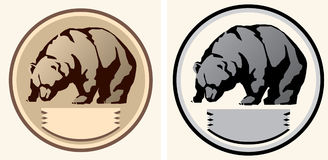 Illustration of a bear Stock Image