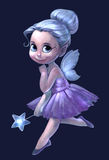 Illustration of a beautiful fairy girl Stock Photography