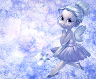 Illustration of a beautiful fairy girl Stock Photo