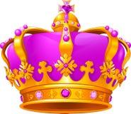 Magic crown. Illustration of Beautiful Magic crown Royalty Free Stock Photo