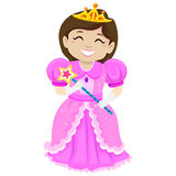Illustration of a Beautiful Princess Royalty Free Stock Images