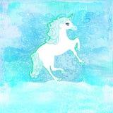 Illustration of beautiful Unicorn. Royalty Free Stock Photos
