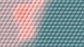 Beautiful wallpaper banner with, Abstract design, geometric Patterns, Cubes, Light Colors shades Texture. An Illustration Beautiful wallpaper banner with vector illustration
