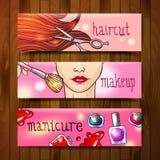 Illustration beauty salon Royalty Free Stock Photo