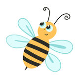 Illustration of a bee. For design Stock Photo