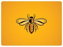 Illustration of bee Stock Photos