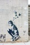 Illustration Berlin de graffiti photographie stock