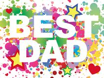 Best dad background Stock Photography