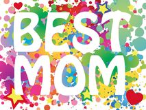Best mom background Royalty Free Stock Photography