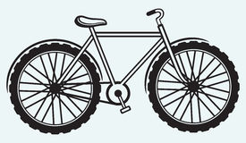 Illustration bicycle Stock Image