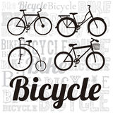 Illustration of Bicycle Royalty Free Stock Images