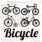 Illustration of Bicycle Stock Images