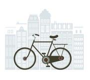 Illustration of bicycle Stock Photo