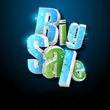 Illustration of big sale poster Stock Photo