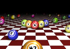 Bingo Perspective Royalty Free Stock Images