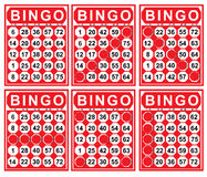 Illustration of bingo card Stock Photography