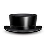 Illustration black cylinder hat Stock Images