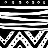 Illustration black and white Royalty Free Stock Photo