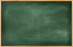 Illustration of Blackboard with Copy Space Stock Photography