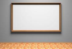 Illustration blanc sur le mur Photo libre de droits