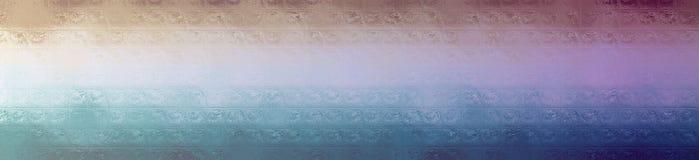 Illustration of blue and brown glass blocks background, abstract banner. Illustration of blue and brown glass blocks background, abstract paint royalty free illustration