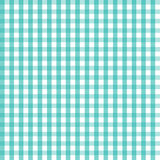 illustration of blue checkered tablecloth. EPS Royalty Free Stock Photography