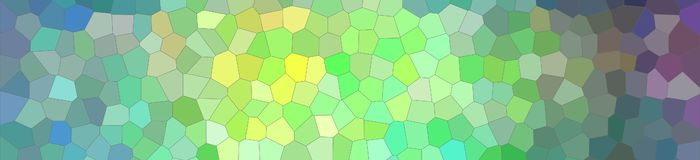 Illustration of blue, green and yellow bright Small Hexagon banner background. Illustration of blue, green and yellow bright Small Hexagon banner background vector illustration
