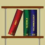 Illustration of Bookshelf -Vector Art- Stock Photos