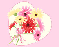 Gerbera bouquet Stock Photo