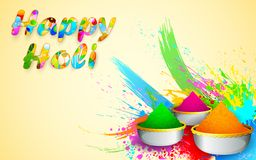 Holi Design Royalty Free Stock Image