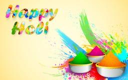 Holi Design Royalty Free Stock Image