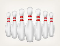Illustration bowling Royalty Free Stock Images